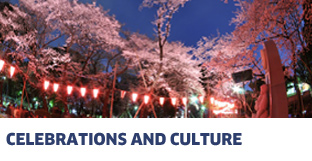 ENJOY CELEBRATIONS, EXPERIENCE CULTURE