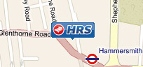 The HRS office in London