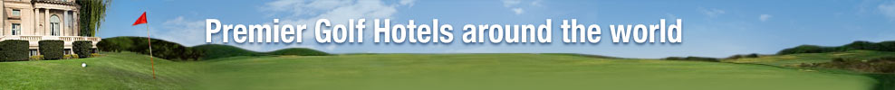 Find premiere golf Hotels all around the world