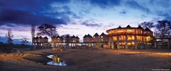 Hotel Sarova Salt Lick Game Lodge - 4 HRS star hotel in Tsavo ...