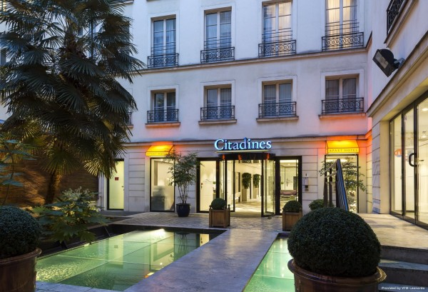 Hotel Citadines Opera Paris