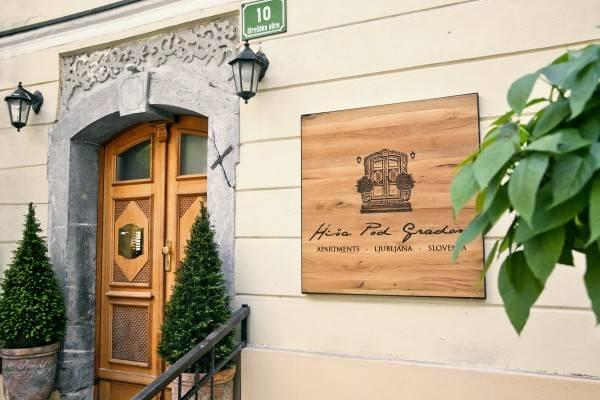 Hotel Apartments Hiša Pod Gradom