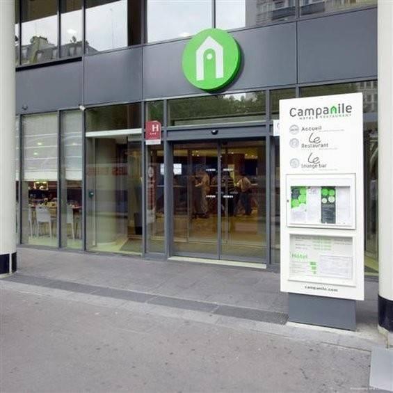 Hotel Campanile Paris XIX la Villette