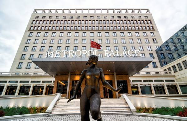 Metropol Palace a Luxury Collection Hotel Belgrade
